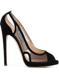 туфли с прозрачными панелями 'Digitalis' Chloe Gosselin