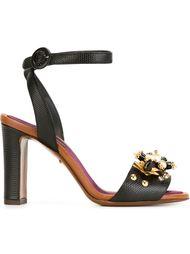 декорированные босоножки с ремешком на щиколотке Dolce & Gabbana