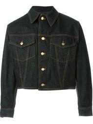 джинсовая куртка со шнуровкой на спине Jean Paul Gaultier Vintage