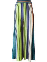 широкие трикотажные брюки M Missoni