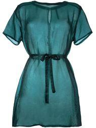 полупрозрачное платье-рубашка  Minimarket