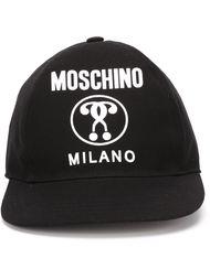 бейсбольная кепка с логотипом  Moschino