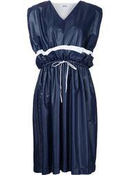 платье с оборками и завязками на талии Arthur Arbesser
