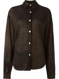 рубашка с отделкой металлик Jean Paul Gaultier Vintage