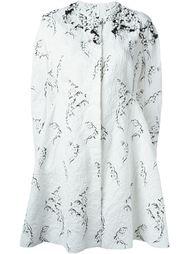 декорированное пальто  Moncler Gamme Rouge