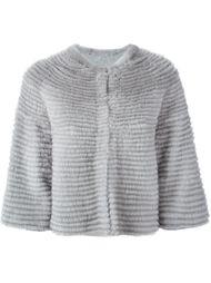 укороченная норковая куртка Liska