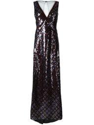 вечернее платье с пайетками Marc Jacobs