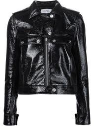 байкерская куртка на молнии  Courrèges