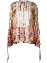 блузка с принтом Etro