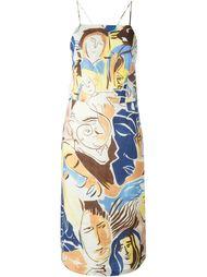 платье с принтом 'Wyeth Visage'  Rachel Comey