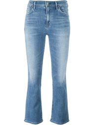 укороченные джинсы буткат Citizens Of Humanity