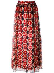 юбка макси с принтом Marc Jacobs