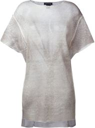 футболка асимметричного кроя  Avant Toi