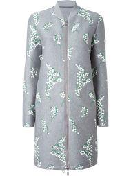 пальто с вышивкой  Moncler Gamme Rouge