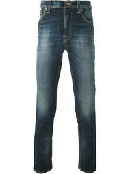 выбеленные джинсы  Nudie Jeans Co
