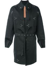 пальто с контрастной застежкой-молнией Raf Simons