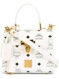 сумка через плечо с логотипом  MCM