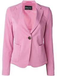 пиджак с застежкой на пуговицу Emporio Armani