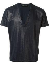 футболка c V-образным вырезом  Etro