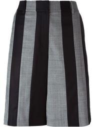классические полосатые шорты  Alexander Wang