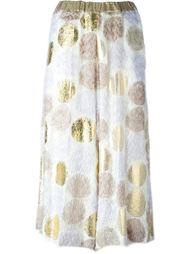 юбка с принтом  Antonio Marras