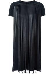 платье с бахромой  Neil Barrett