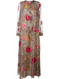платье макси с принтом пейсли  Etro