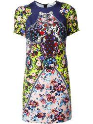 платье с цветочным принтом   Mary Katrantzou