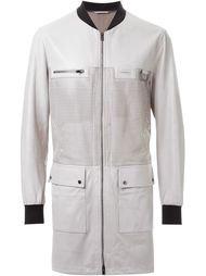 перфорированное пальто Drome