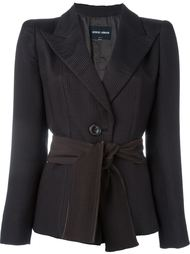 пиджак с поясом Giorgio Armani Vintage