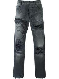 джинсы с рваными деталями   Faith Connexion