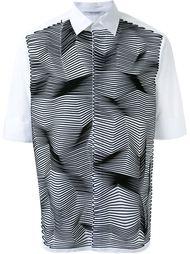 рубашка с аппликацией  Neil Barrett