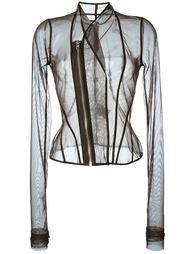 куртка на молнии из тюля  Rick Owens Lilies