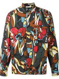 двухсторонняя куртка с цветочным принтом Marni
