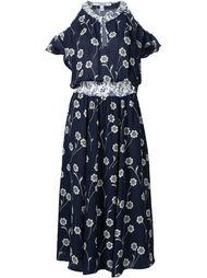 платье с цветочным принтом   Derek Lam 10 Crosby