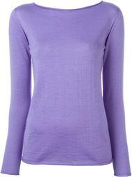 свитер с вырезом-лодочкой Ralph Lauren
