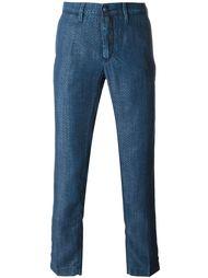 жаккардовые брюки  Jacob Cohen