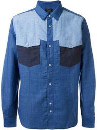 рубашка с панельным дизайном  Ports 1961