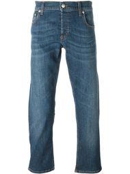 джинсы прямого кроя   Alexander McQueen