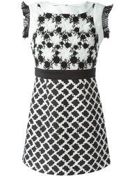 платье с цветочным узором  Emanuel Ungaro