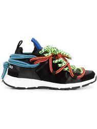 кроссовки 'Bungy Jump' с разноцветными шнурками Dsquared2