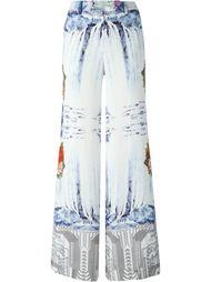 широкие брюки с принтом Piccione.Piccione
