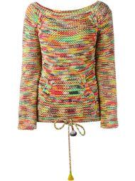разноцветный вязаный джемпер Chloé