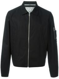 куртка-бомбер с принтом на спине Kenzo