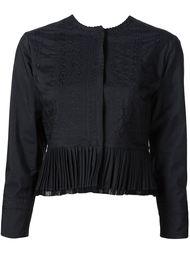 cropped pleated jacket Maison Margiela