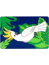 клатч с изображением попугая Yazbukey