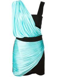 платье в стиле колор-блок  Fausto Puglisi