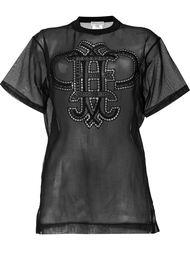 прозрачная футболка  Emilio Pucci