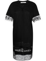 платье-шифт с кружевной отделкой Givenchy