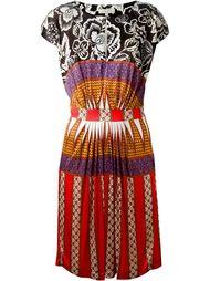 платье с комбинированным принтом  Etro